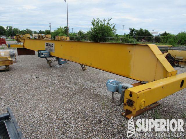 DEMAG 3-Ton Bridge Crane w/ 40' Span – YD7