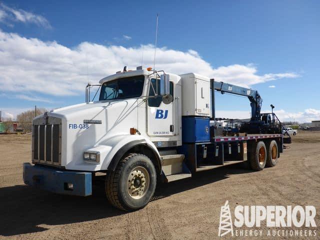 KENWORTH T800 Crane Truck – YD5